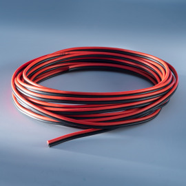 Supply Cable, Cross-Section 2x 0.75mm², 5m, PVC