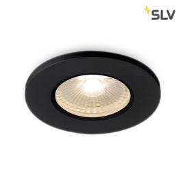 SLV Kamuela LED-Downlight 3000K 7cm schwarz