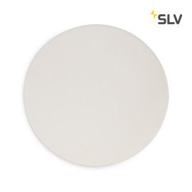 SLV Fenda Cover, Acrylic Glass, D 45.5 cm, white