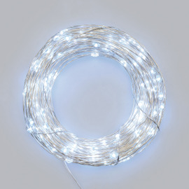 LED Micro Light Chain, 20 cold white LEDs, Battery Operated