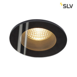 SLV PATTA-F Downlight rond noir