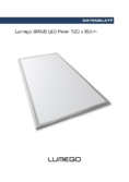 Data sheet Lumego SIRIUS LED Panel silber 120x60cm