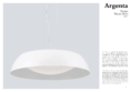 Data sheet Mantra ceiling light ARGENTA BIG 60cm