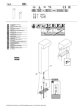 Betriebsanleitung SLV L-LINE OUT 80 FL Pole, Outdoor LED Stehleuchte horizontal anthrazit CCT switch 30004000K