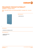 Spécifications Osram Smart+ Switch Mini bleu