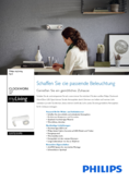 Hersteller Datenblatt Philips myLiving Spot Clockwork Warmglow 2-flammig