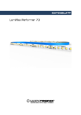 Data sheet LumiFlex Performer LED Leiste, 70 LEDs, 50cm, 24V