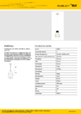 Data sheet SLV PENTULI LED pendant light 24 white
