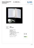 Data sheet Honsel wall light Clip
