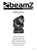 Bedienungsanleitung Beamz IGNITE60 60W LED Moving Head Spot