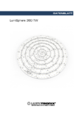 LUMITRONIX Datenblatt LumiSphere 360 TW Professional LED-Rundmodul 864 LEDs 2700K-6500K