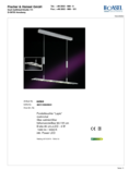 Data sheet Honsel pendant light Lapis