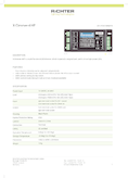 Data sheet RGBW X-Dimmer-4DMX, 4 Channel 350-700mA