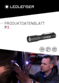 Data sheet Ledlenser P3 Power Flashlight