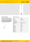Data sheet SLV LIGHT EYE BALL copper