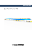 Data sheet LumiFlex Performer TW LED Leiste, 700 LEDs, 5m, 24V