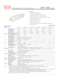 Data sheet Meanwell LPV-100 24V