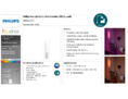 Hersteller Datenblatt Philips Hue LED-Wandleuchte Liane, weiß, White and Color Ambiance