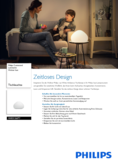 Spécifications Philips hue Wellner LED lampe de table