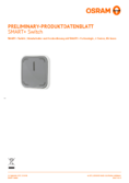 Hersteller Datenblatt Osram Smart+ Switch