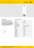 Data sheet SLV LIGHT EYE brass