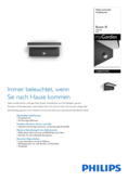 Data sheet Philips myGarden IR LED wall light Bustan, anthracite, sensor
