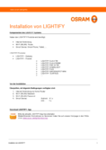 Installationsanleitung Osram Lightify