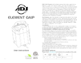 User manual ADJ Element QAIP LED Wall-Washer