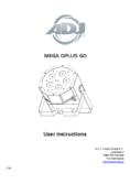 User instructions ADJ Mega QPlus GO