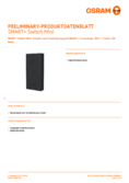Spécifications Osram Smart+ Switch Mini noir