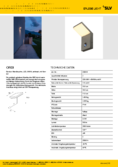 Data sheet SLV ORDI LED