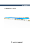 Data sheet LumiFlex Economy TW LED Leiste, 700 LEDs, 5m, 24V