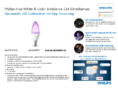 Hersteller Datenblatt Philips Hue LED E14 White and Color Ambiance RGBW 6.5W