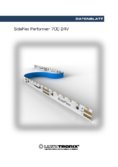 Spécifications SideFlex Performer LED strip, blanc neutre, 3650lm, 700 LEDs, 5m, 24V