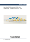Datasheet Lumiflex COB Economy LED-Strips neutral white, 5040mm, 24V