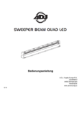 Bedienungsanleitung ADJ Sweeper Beam QUAD LED