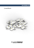Lumitronix Data sheet ConextMatrix, LED-Modul, warmwhite, 118 lm, 4 LEDs, 4x4 cm, 24 V, CRI 90
