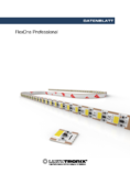 Hersteller Datenblatt FlexOne Professional LED Leiste, 1 LED, 10mm, 24V