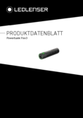 Datenblatt Ledlenser Flex3 Powerbank Li-Ion 3400 mAh