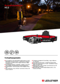 Spécifications LED LENSER® H3.2 lampe frontale