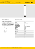 Data sheet SLV LIGHT EYE BALL black chrome