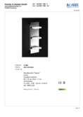 Data sheet Honsel wall light Sporto 3-flame