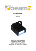 Manuel d'instructiones BeamZ LED Mini Strobe