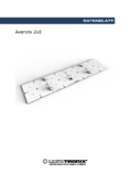 Data sheet Aventrix 2x8, LED-Modul, 60x240mm